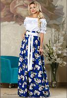 Яркая юбка с принтом , фото 1