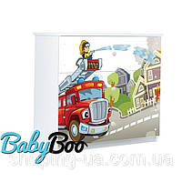 Детский комод Пожарник BABY BOO