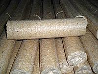 Топливные брикеты из костры льна
