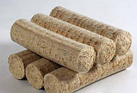 Топливные брикеты из костры льна, фото 1