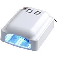 Лед лампа для ногтей гибридная уф led ccfl 36 ватт,  гибридная, led лампа для гель лака,  уф лампа для ногтей