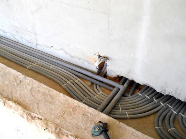 Лучевая разводка системы отопления