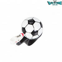 Звонок Green Cycle (GCB-023A-BK) футбольный мяч