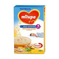 Milupa каша мол. мультизлаковая с мелисой 230г