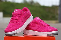 Летние женские кроссовки Nike air Force текстиль, фото 2