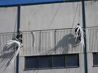 Окраска фасадов промышленных зданий