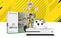 Microsoft Xbox One S 500GB + игра: FIFA 17