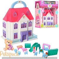 Кукольный домик Счастливая семья М 8050