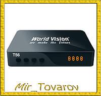 Ресивер World Vision Т56 тюнер для ТВ