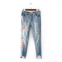 Модные укороченные джинсы, фото 1