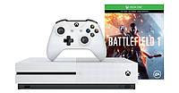 Microsoft Xbox One S 500GB + игра: Battlefield 1
