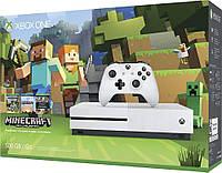 Microsoft Xbox One S 500GB + игра: Minecraft