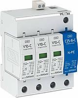 Ограничитель перенапряжения 5094931 V10-C/3+NPE+FS (класс II+III) 20kA 280В (OBO Bettermann)