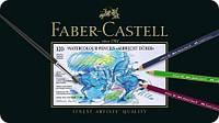 117511 120 цветов АКВАРЕЛЬНЫЕ КАРАНДАШИ ALBRECHT DURER В МЕТАЛЛИЧЕСКОЙ КОРОБКЕ Faber Castell