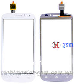Тачскрин (сенсорный экран) для телефона Fly IQ4404 Spark (тестирован) белый