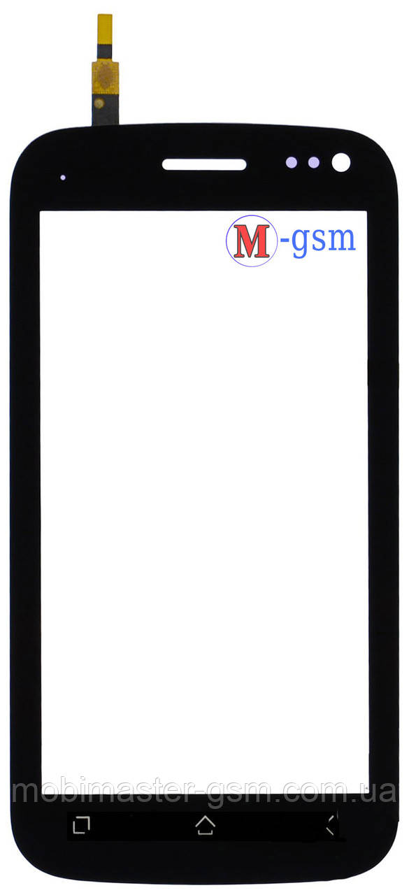 Тачскрин (сенсорный экран) для телефона Fly IQ450 Quattro black