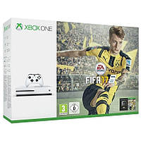 Microsoft Xbox One S 1TB + игра: FIFA 17