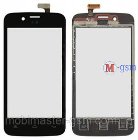 Тачскрин (сенсорный экран) для телефона Fly IQ440 Energie черный