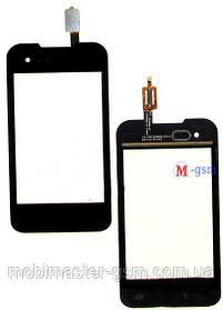 Тачскрин (сенсорный экран) для телефона Fly IQ237 Dynamic black