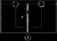 DS-F M/W 5093275 OBO BETTERMANN Защитное устройство для высокочастотных линий, 130V