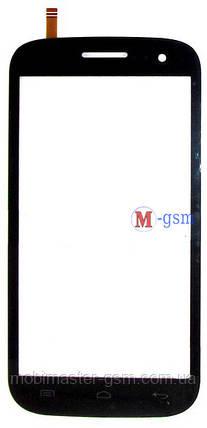Тачскрин (сенсорный экран) для телефона Fly IQ451 Vista black, фото 2