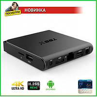ТВ приставка android smart TV BOX Т95Х, HD медиаплеер, фото 1