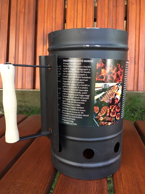 Стартер (кружка) для розжыга угля BBQ