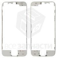 Рамка крепления дисплея для мобильных телефонов Apple iPhone SE, белая