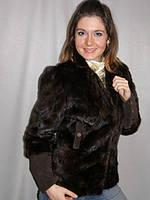 Реставрация куртки из меха норки