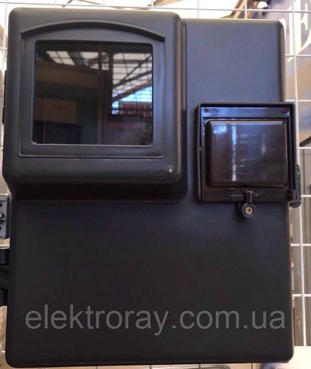 Щит пластиковый навесной для 1-3-фазного счетчика  КДЕ-1 - ЭлектроРай в Харькове