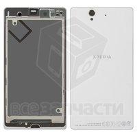 Корпус для мобильных телефонов Sony C6602 L36h Xperia Z, белый