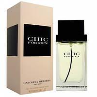 Парфмюмированная вода мужская Carolina Herrera CHIC For Men 100 ml