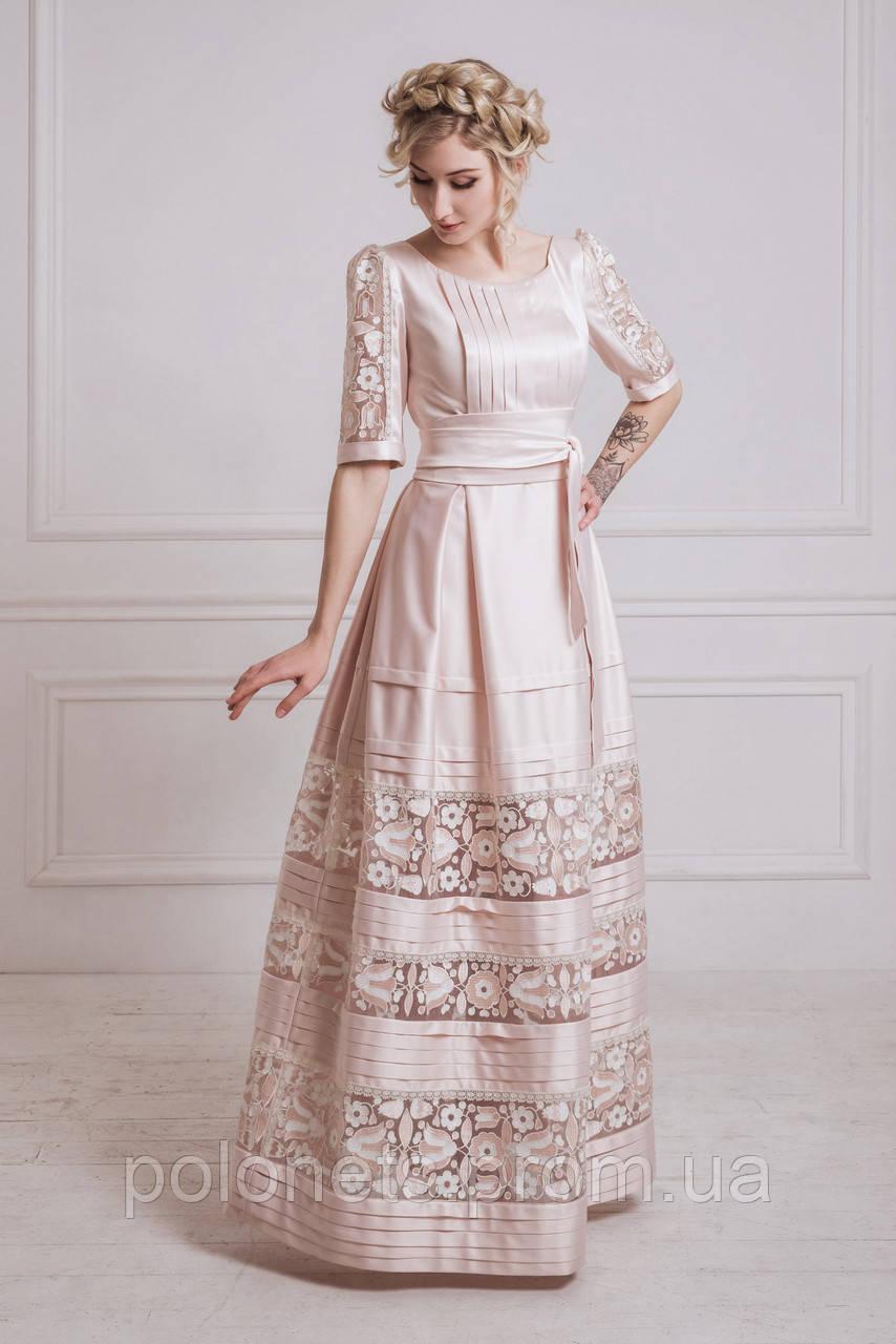 Ексклюзивна сукня з вишивкою - Дизайн-студія Оксани Полонець в Киеве fabef3f145f8f