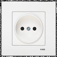 VIKO Karre Розетка  (без заземления) Белая (90960007)