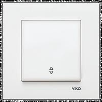 VIKO Karre Переключатель проходной  Белый (90960004)