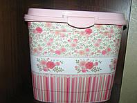Контейнер для стирального порошка Elif (7 л) Кружево и розы
