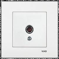 VIKO Karre Розетка ТВ проходная  Белый (90960060)