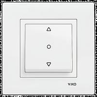 VIKO Karre Переключатель управления жалюзи  Белый (90960016)