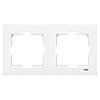 VIKO Karre Двойная горизонтальная рамка  Белый (90960221)