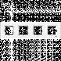 VIKO Karre Четверная горизонтальная рамка  Белый (90960223)