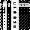 VIKO Karre Шестерная вертикальная рамка  Белый (90960205)