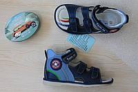 Детские ортопедические босоножки на мальчика тм Tom.m р.21