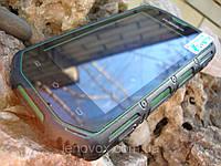 Противоударный смартфон HUMMER H5 зеленый