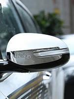 Kia Sportage KX5 Mk4 2015+ хром накладки на зеркала