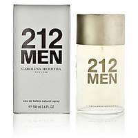 Парфмюмированная вода мужская Carolina Herrera 212 Men 100 ml