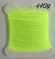 Акрил для вышивки -  салатовый