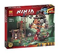 Конструктор Bela 10583 Ниндзяго Железные удары судьбы (аналог Lego Ninjago 70626)