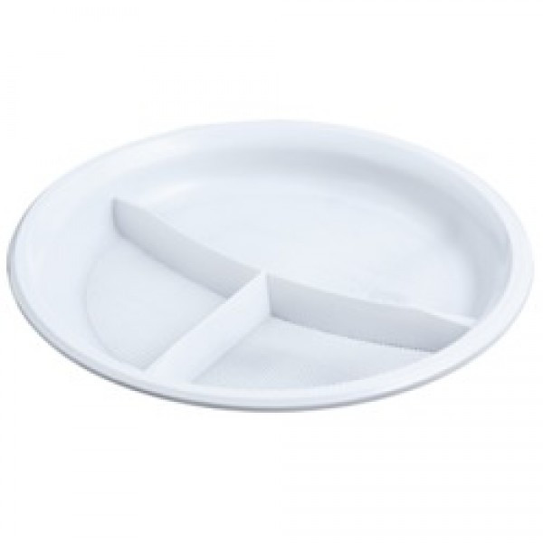 Тарелка из вспененного полистирола