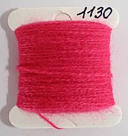 Акрил для вышивки - розовый яркий