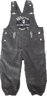 Полукомбинезон для мальчика Puan Baby серый размер 68